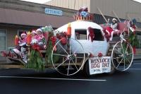 Egg Day Court awarded at Santa Parade