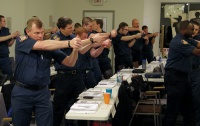 Cadets prepare for range day at Winlock police academy
