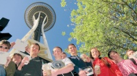 Students get a rise from Space Needle experiment