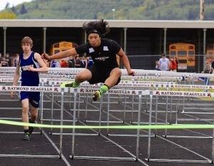 Hurdlin' over