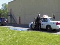 Cadets tackle mock scenes at 2013 Police Reserve Academy in Winlock