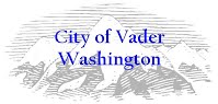 Vader Council Meeting: Name Changing, Marijuana and Street Grants