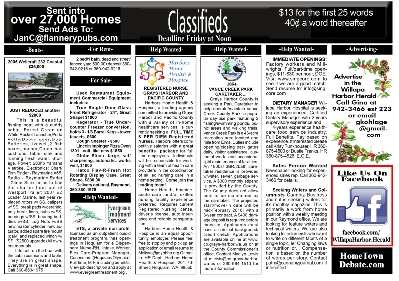 Classifieds 1.6.16