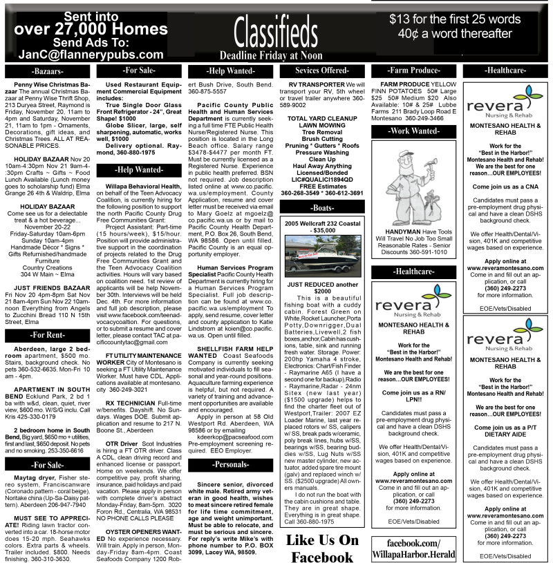 Classifieds 11.18.15