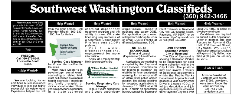 Classifieds 1.9.18