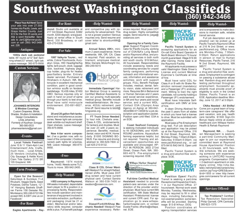classifieds 06.07.17