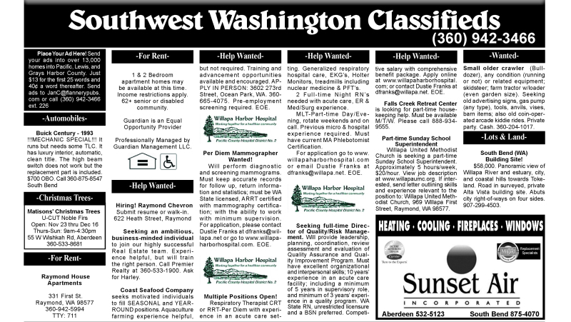 Classifieds 12.12.18