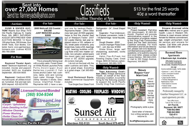 Classifieds 8.12.15