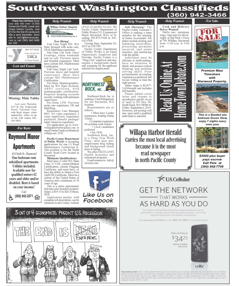 Classifieds 9.11.19