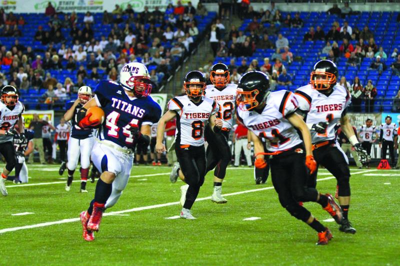 Napavine thwarts Titans 29-13 in State semifinal tilt