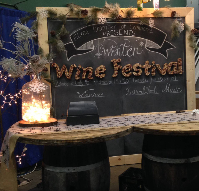 Elma Chamber 9th Annual Winter Wine Festival