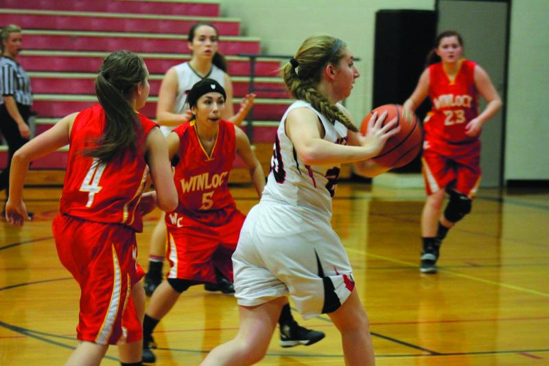 Toledo vs Winlock Girls Basketball