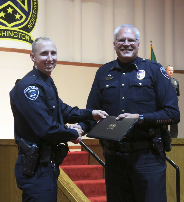 Officer Spaur Graduates Basic Law Enforcement Academy