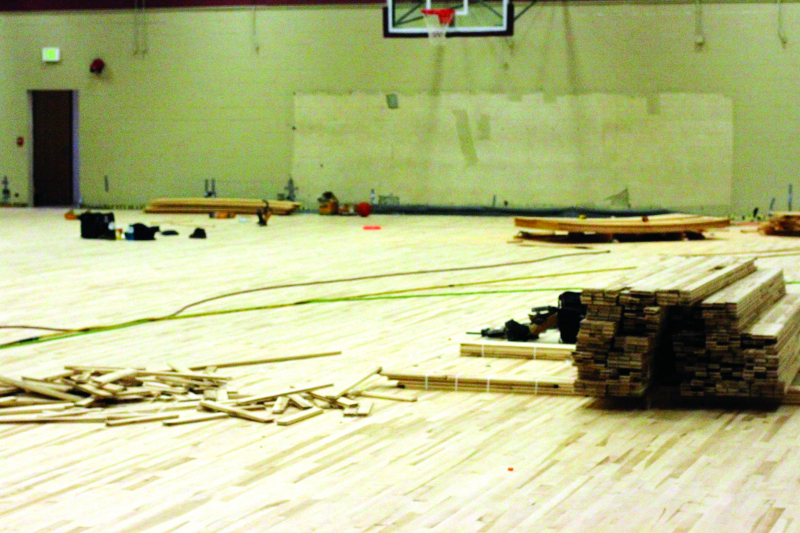Koplitz Field House gets makeover