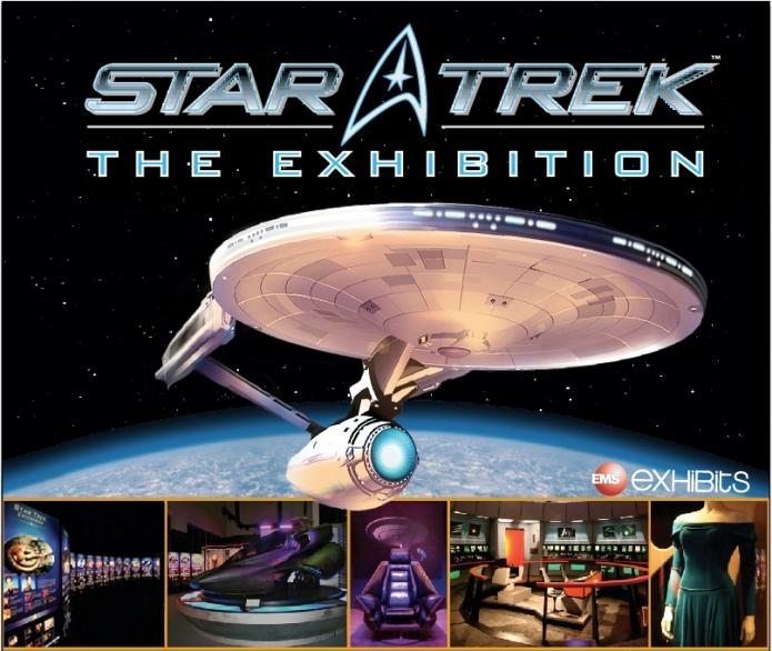 STAR TREKTM EXHIBITION LANDS AT STATE FAIR, SEPT. 11-27
