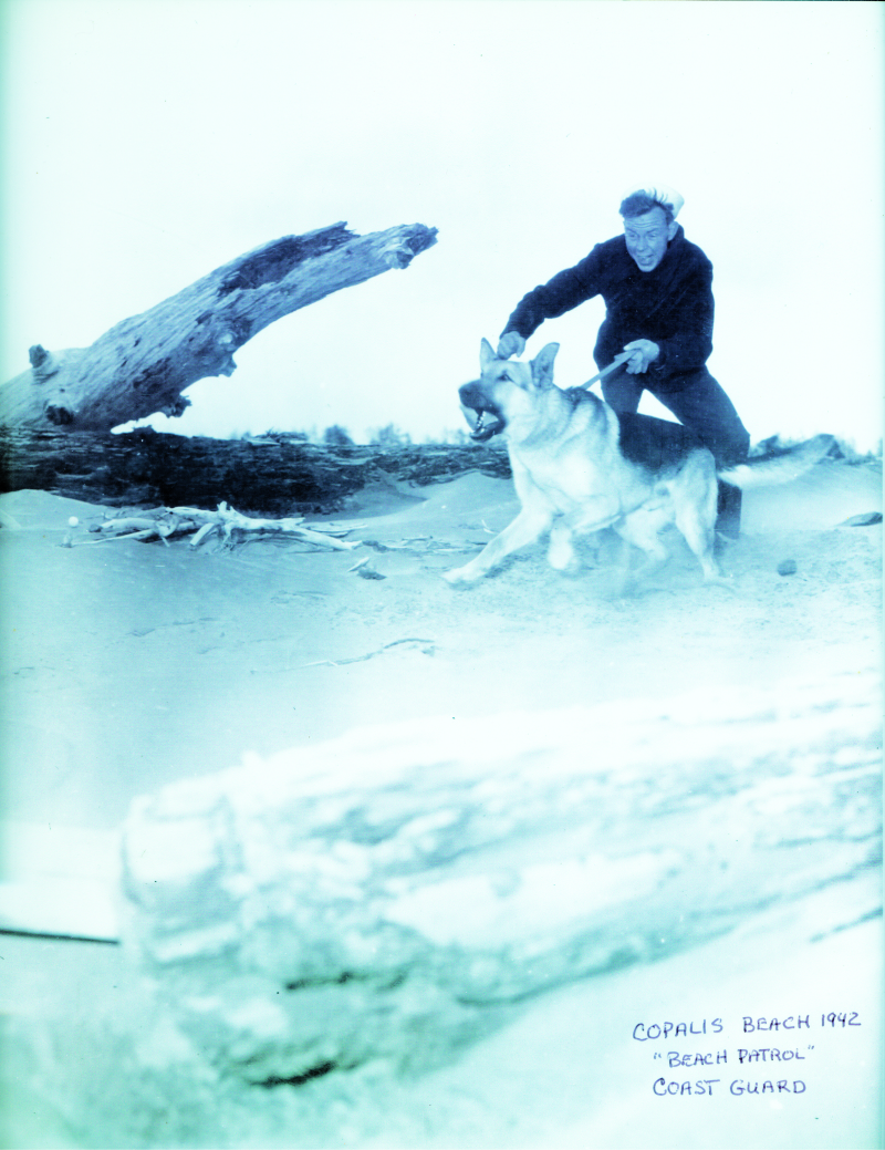 WWII Coast Guard Beach Patrol