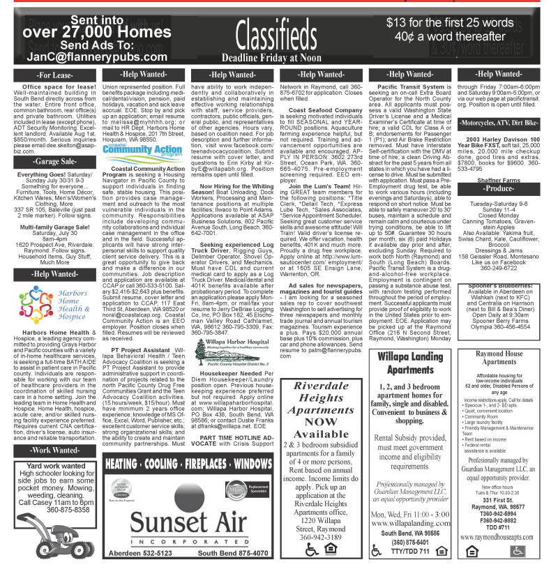 Classifieds 7.27.16