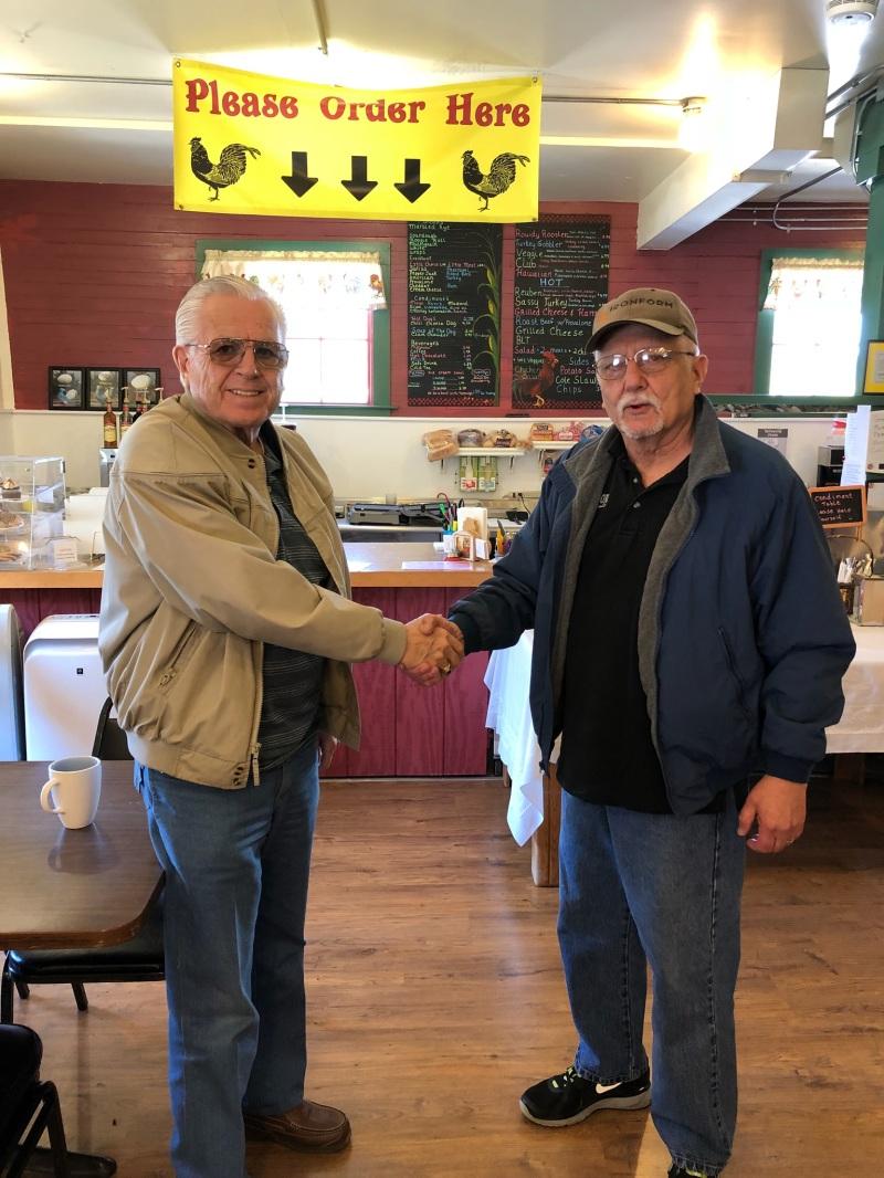 Winlock volunteer retires