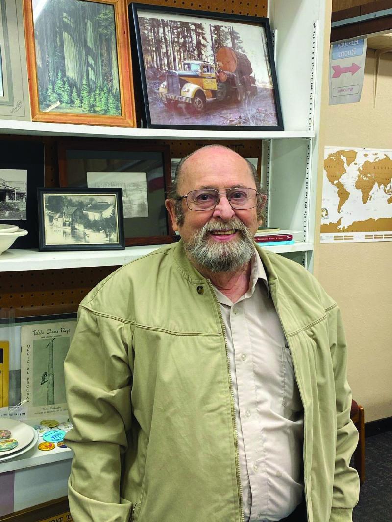 Toledo Historical Society President Don Brenner