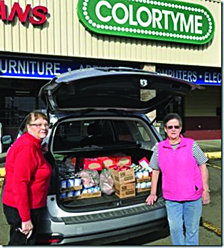 Elks grant benefits local food banks