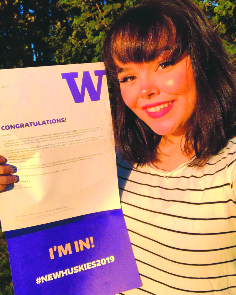 Jillian Fuss, a Future Husky