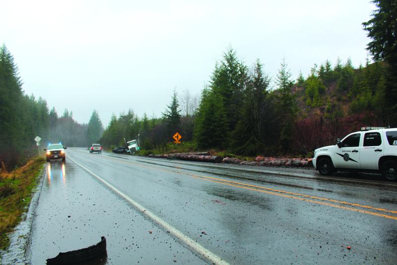 Log Truck Crash