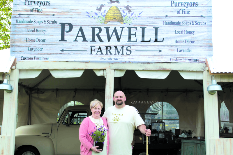 Parwell Farms growing in Vader