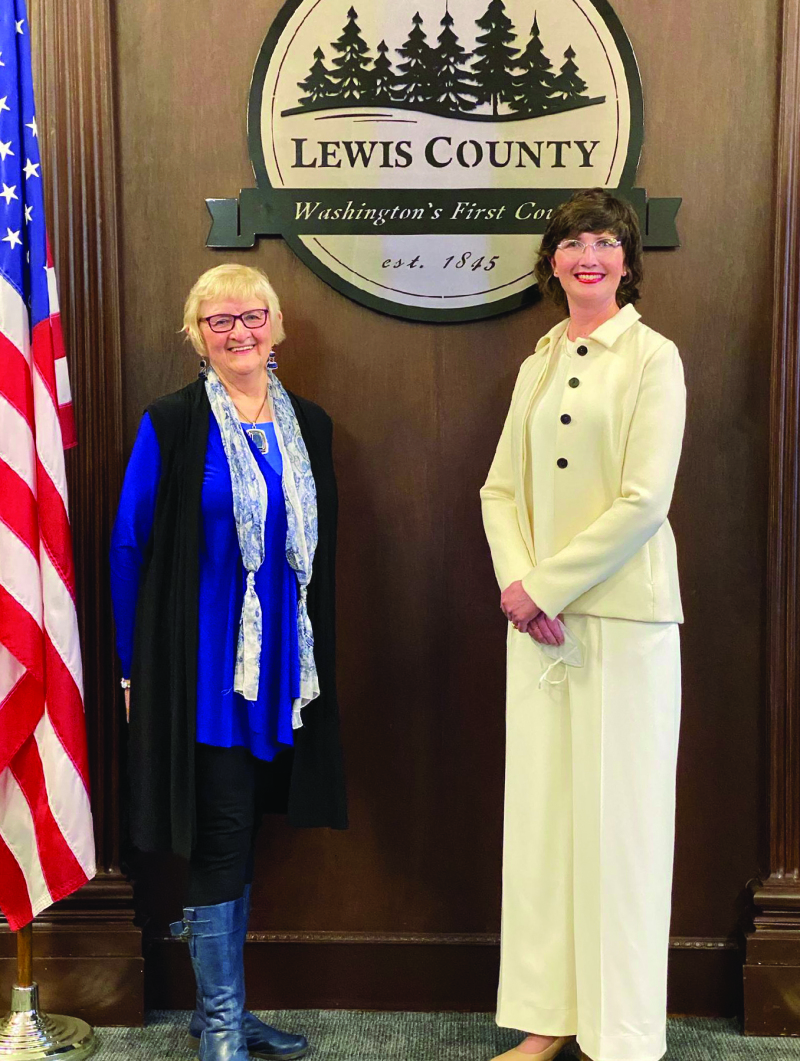 New commissioner sworn in