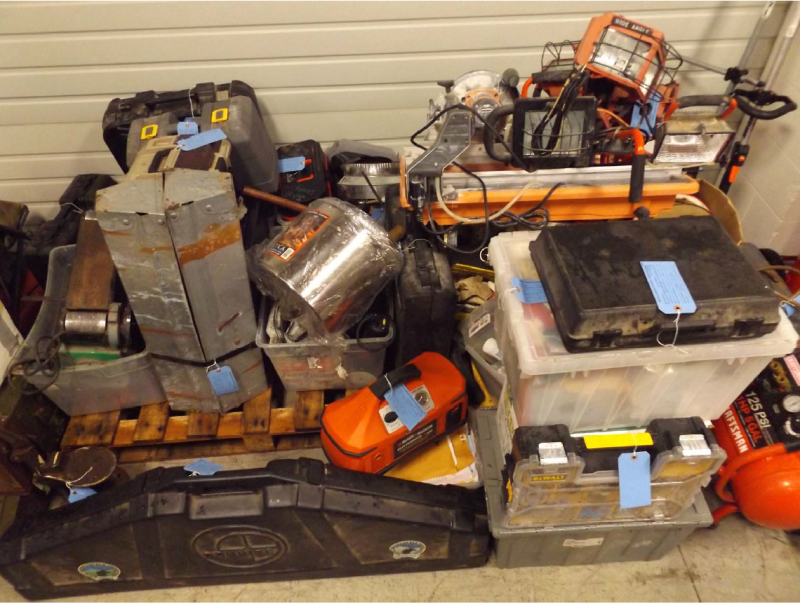 Deputies recover stolen property