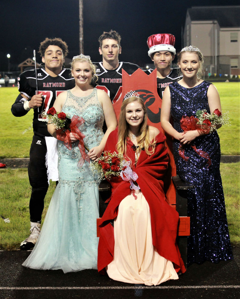 Raymond Fall Homecoming Court
