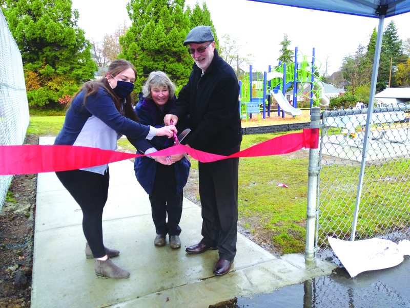 New Riverview Playground Dedication