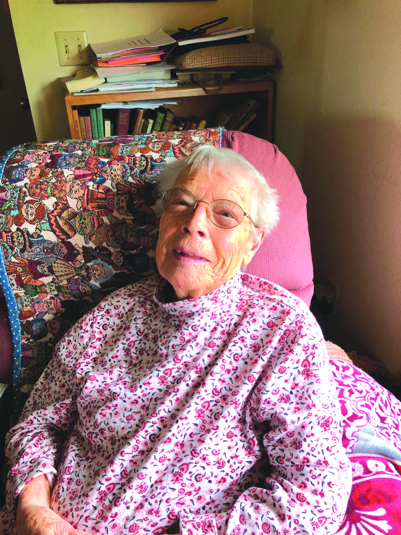 Happy Birthday: Ruth Herren turns 100