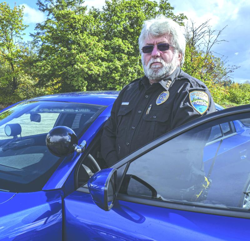 New Toledo Chief of Police Sam Patrick