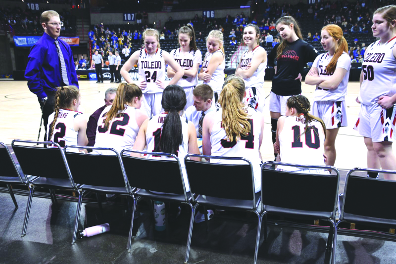 Toledo Indians play hard at State