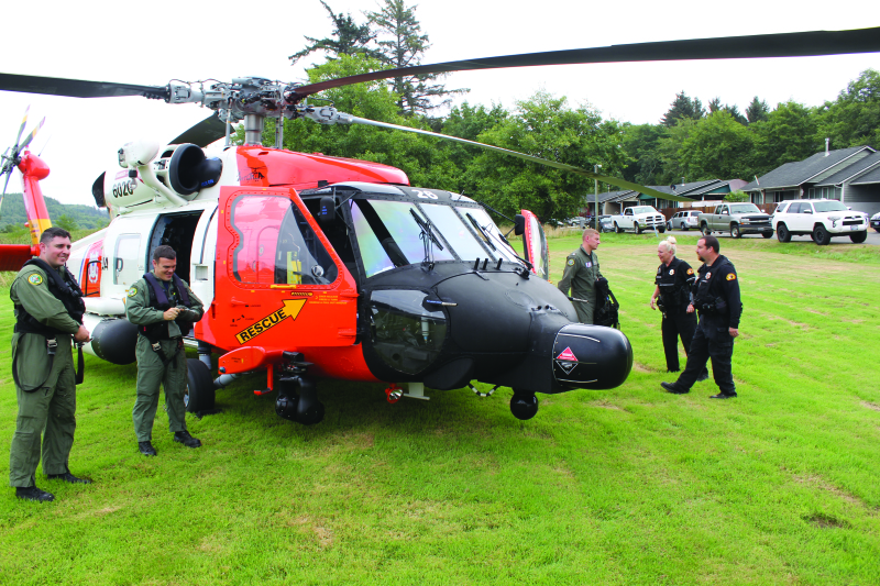 First Shoalwater Bay Safety Fair a success