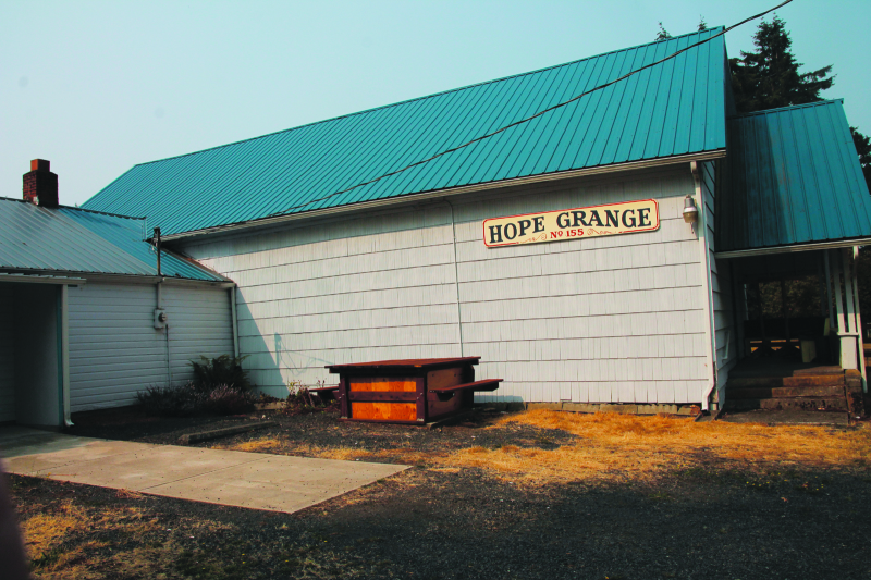 Historic Hope Grange focuses on local service