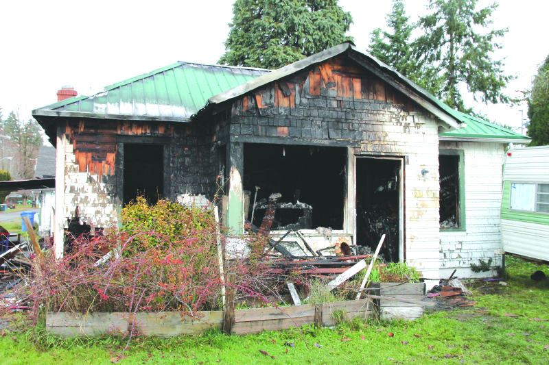 Fire causes total loss of Winlock home