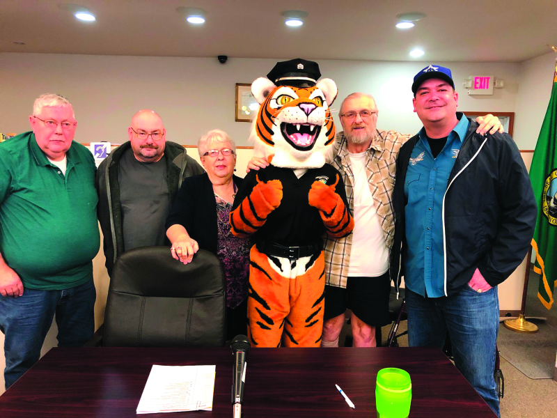 City of Napavine Police Department gets new mascot
