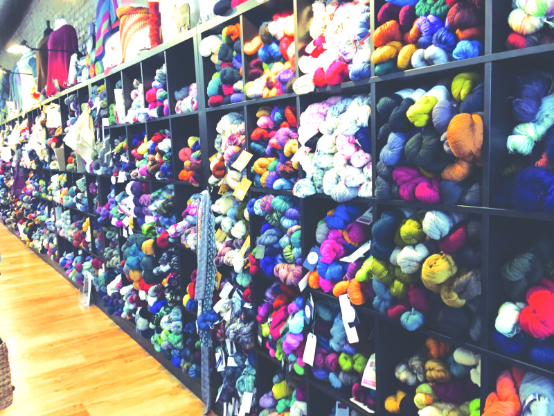 Of yarn and cheese in Chehalis