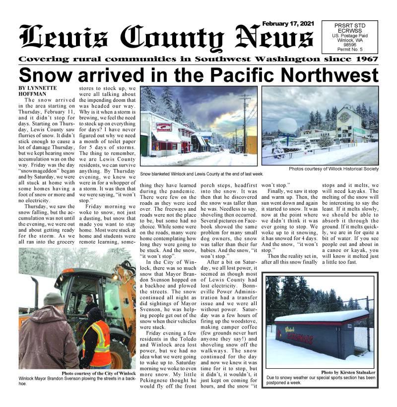 February 17, 2021 Lewis County News