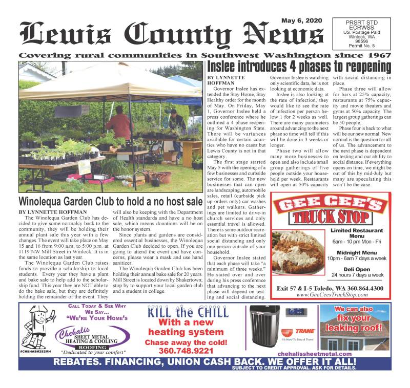 May 6, 2020 Lewis County News