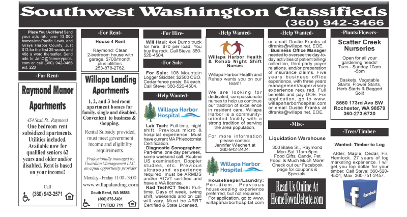 Classifieds 5.13.20