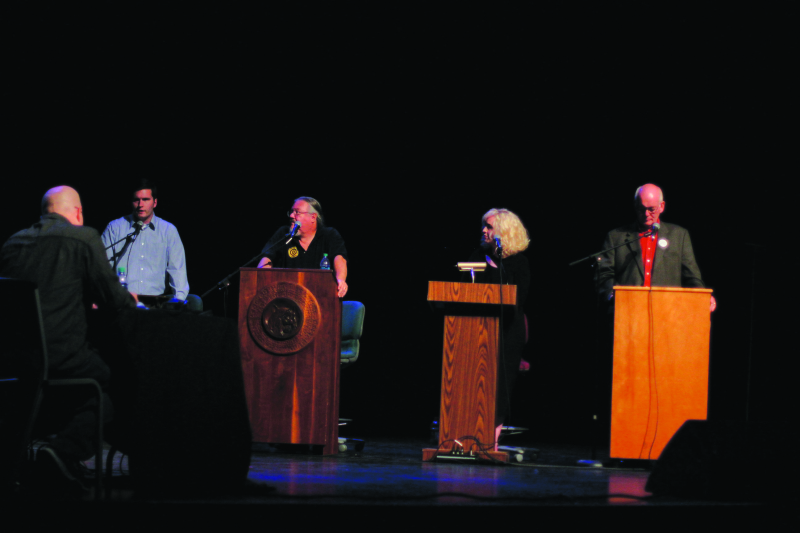 Mayor Candidates Discuss the Issues at the DNR Theater