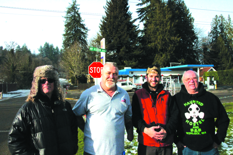 Travel Channel makes Winlock stop
