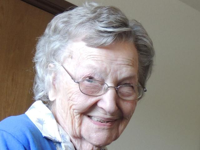 In Loving Memory of Alice A. McGee Blenn