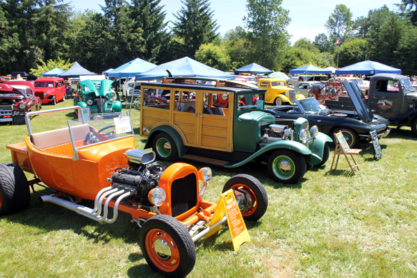 Country Cruisers host car show in Vader