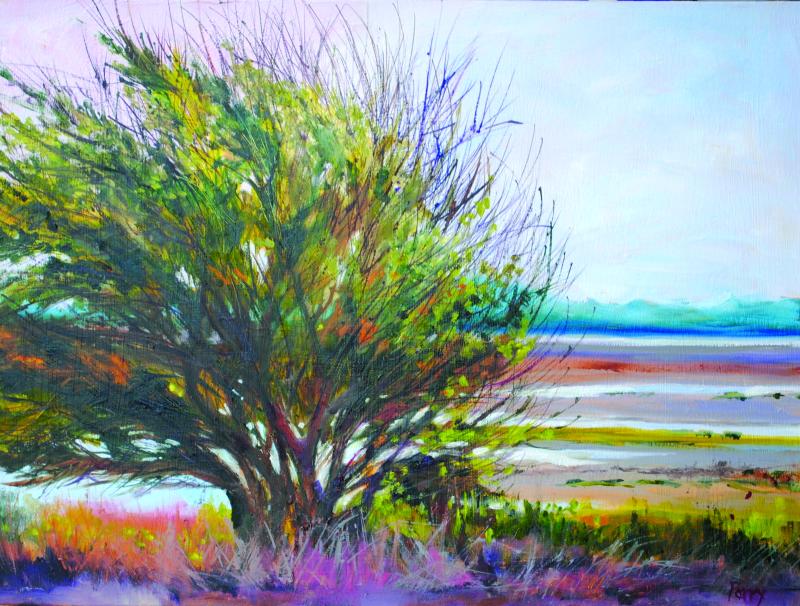 Painter retains fond memories of Raymond area childhood