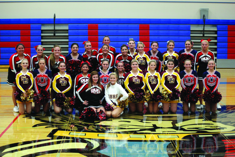 Good Sport of the Week: 2015 Football Cheer Squads