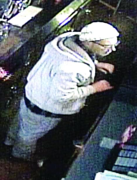 Burglary suspect caught on video