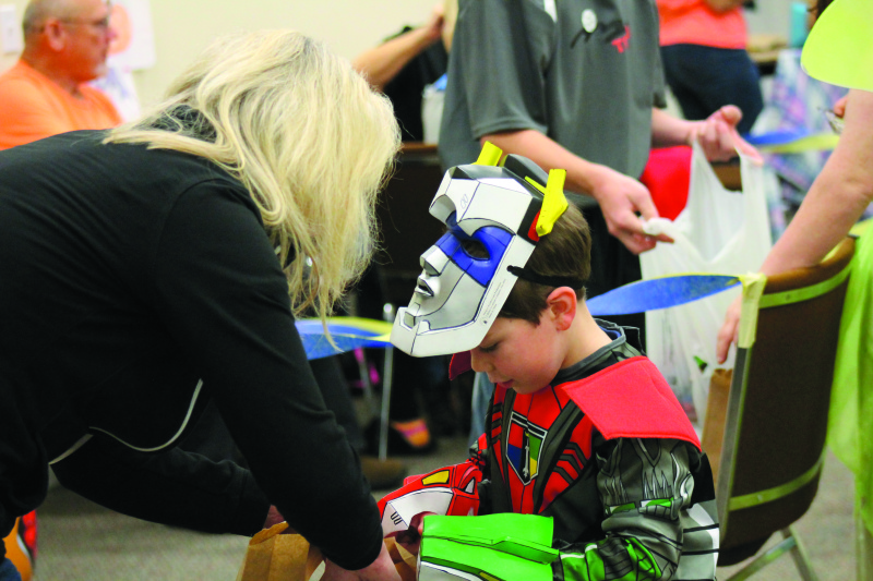 Vader church offers fun for Halloween